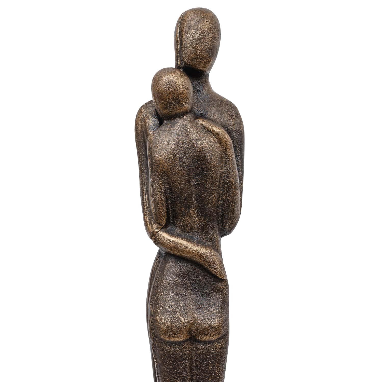 e Skulptur Statue Figur Liebespaar Liebe Paar Hochzeit Eisen Garten 67cm