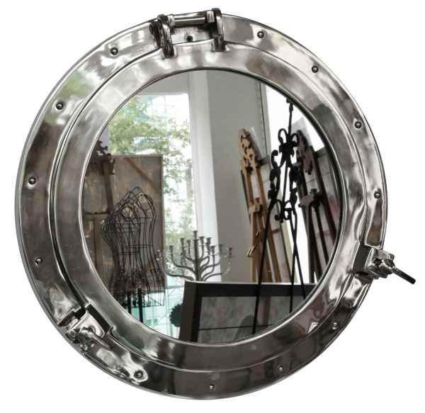 Bullauge mit Spiegel zum Öffnen Schiff Boot Maritim Dekoration 47cm