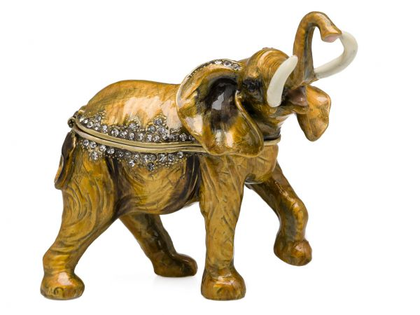 Elefant Pillendose Schmuckdose Dose Pillenbox Box Dose Pille Schmuck Figur