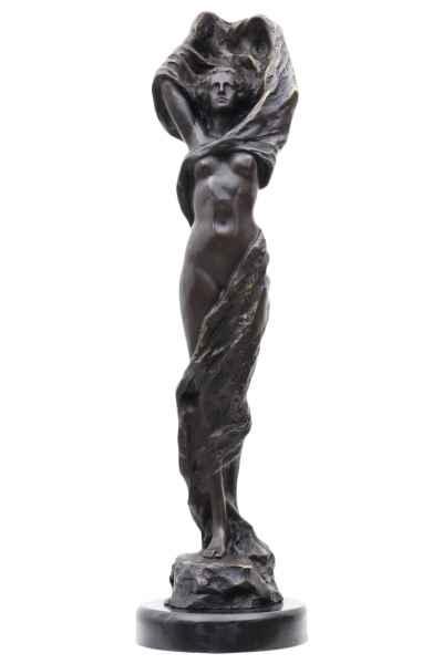 Bronzeskulptur Erotik erotische Kunst im Antik-Stil Bronze Figur 52cm