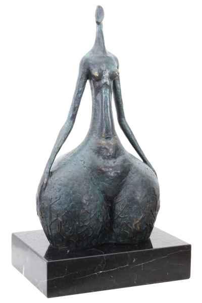 Bronzeskulptur Erotik erotische Kunst im Antik-Stil Bronze Figur Statue 39cm