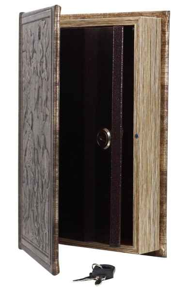 Buchtresor Buchsafe Buchattrappe Geheimversteck Geheimsafe Box mit Schlüssel b