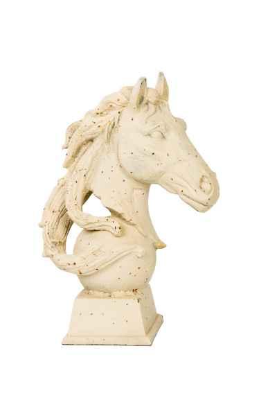 Pferdekopf aus Eisen Skulptur Figur Pferd Büste Garten sculpture iron horse