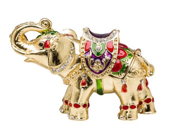 Elefant Pillendose Schmuckdose Dose Pillenbox Box Dose Pille Elephant Figur