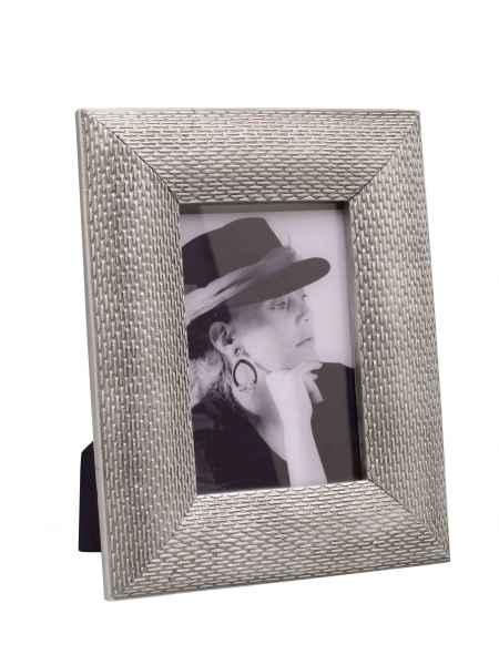 Fotorahmen Bilderrahmen Rahmen Querformat Hochformat Foto 10x15cm silber