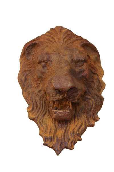 Tête de Lion Lion décoration fer Wandbrunnen Gargouilles Sculpture Personnage D