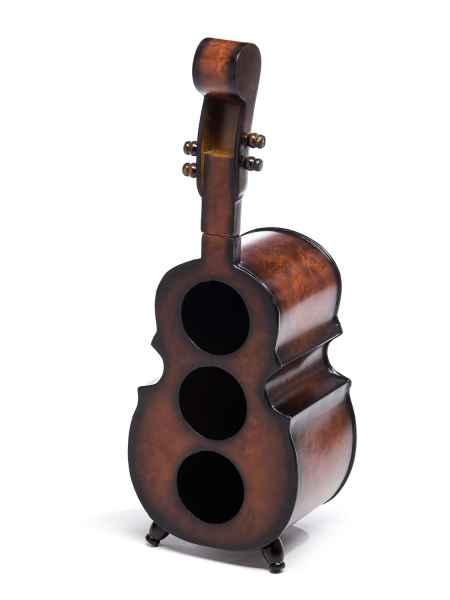 Weinregal 60cm Cello Bass Kontrabass Flaschenregal Flaschenständer Wein Regal