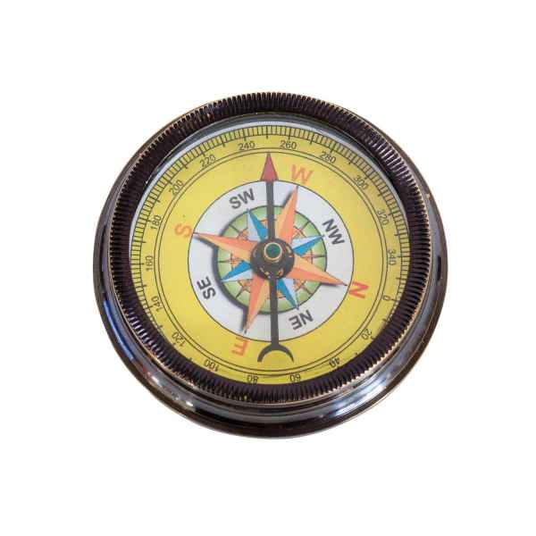 Kompass Maritim Schiff Dekoration Navigation Messing Antik-Stil