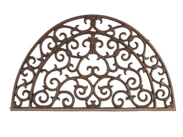 Fussmatte Fussabtreter Türmatte Eisen Landhausstil im antik Stil doormat iron