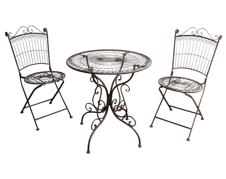 Nostalgie de la table de salon de jardin meubles de jardin style ancien