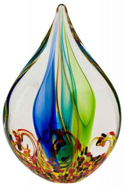 Glasfigur Figur Skulptur Modern Glas Glasskulptur im Murano Antik-Stil - 25cm