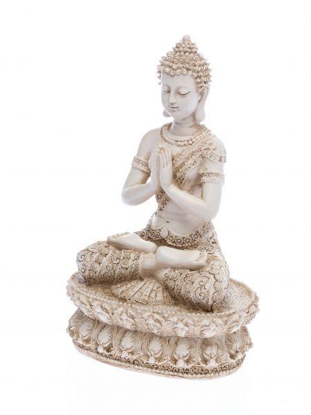Buddha Meditation Feng Shui Figur Skulptur Antikstil Asien sculpture Budda 34cm