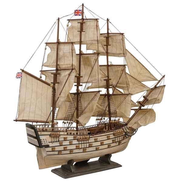 Modellschiff HMS Victory England Holz Schiff Segelschiff 86cm kein Bausatz