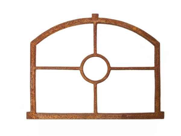Nostalgie Stallfenster Fenster 55x70cm Eisen Gusseisen Rost antik Stil