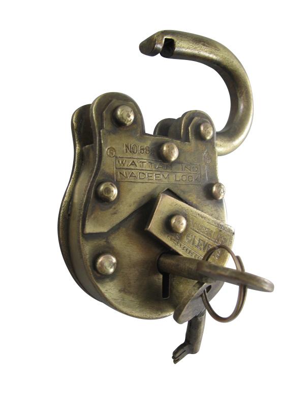 Antico stile lucchetto cantina del castello con due chiavi Nostalgia
