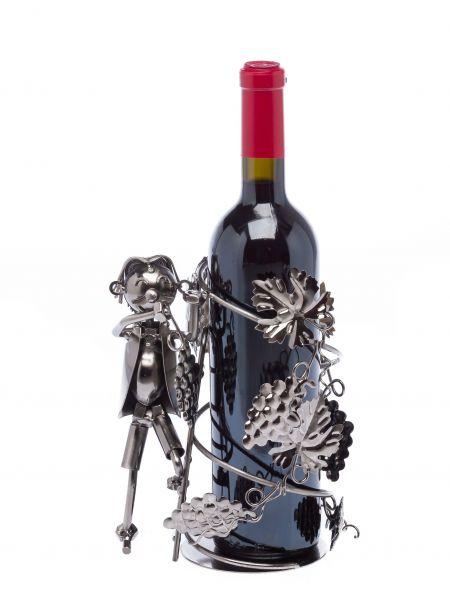Flaschenhalter Winzer Flasche Weinhalter Weinständer Wein Weinbauer Obstbauer