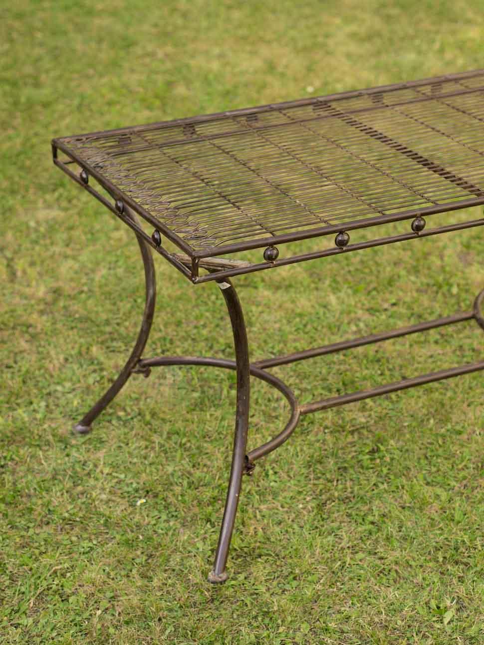 Nostalgie Gartentisch Gartentisch Eisen Tisch Loungetisch Antikstil