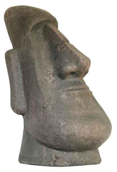 Moai Skulptur Figur Garten Antik-Stil 63cm Rapa Nui Polynesien Osterinsel Chile
