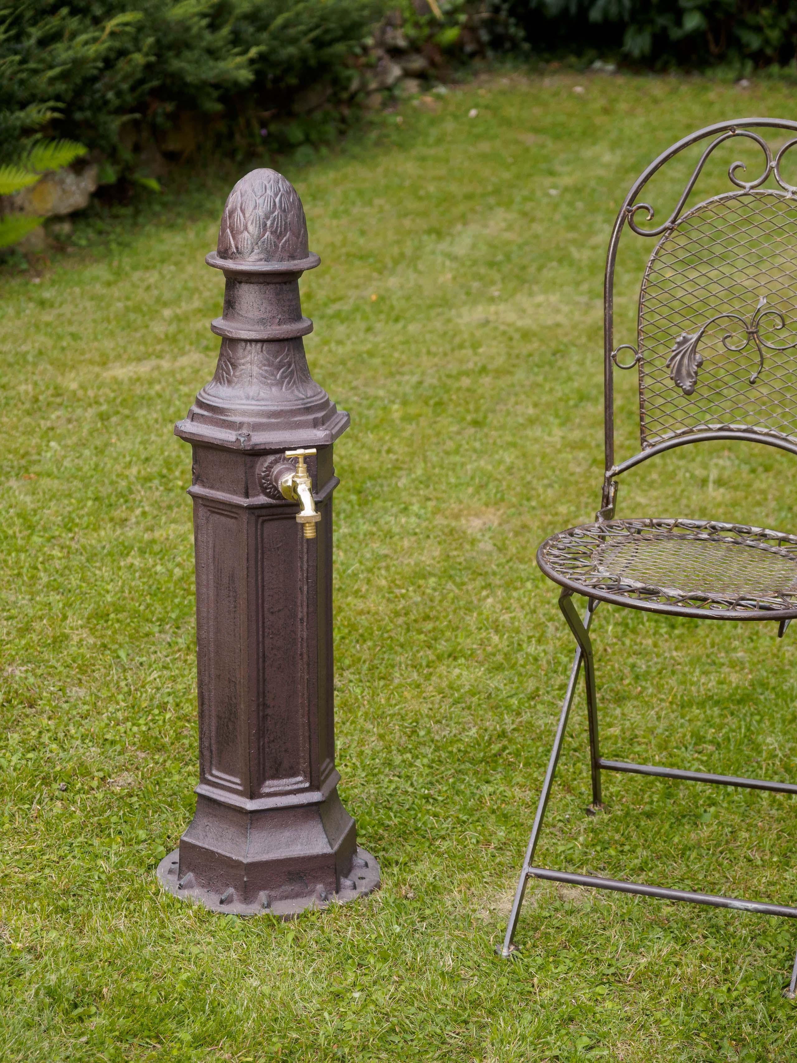 Eisen Standbrunnen Waschbecken Garten Antik Stil Brunnen Zapfsäule