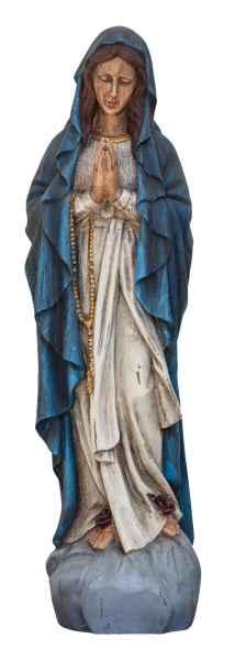 XXL Skulptur Madonna 80cm Heiligenfigur Maria Figur Statue Antik-Stil
