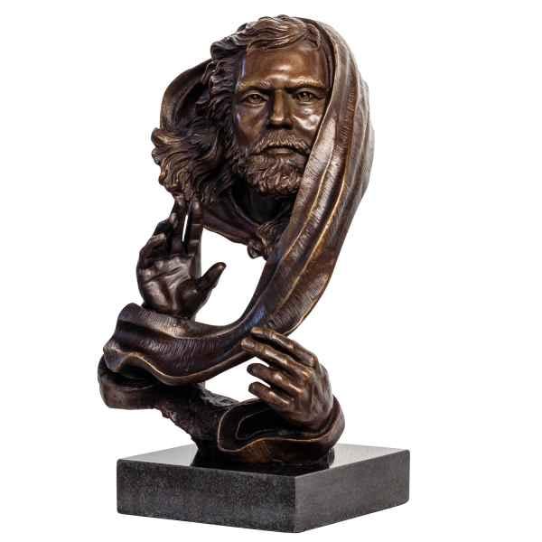 Bronzeskulptur Gott im Antik-Stil Bronze Figur Statue Skulptur 39cm