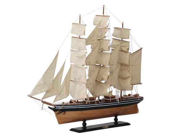 Modellschiff Cutty Sark Dreimaster Segelschiff Yacht Schiffsmodell Schiff 102cm