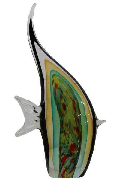 Glasfigur Figur Skulptur Glas Glasskulptur Skalar Murano-Stil Antik-Stil 36cm