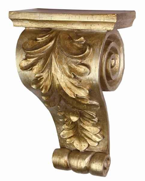 Konsole Ablage Regal Wandregal Wandkonsole Silber Antik-Stil 35cm