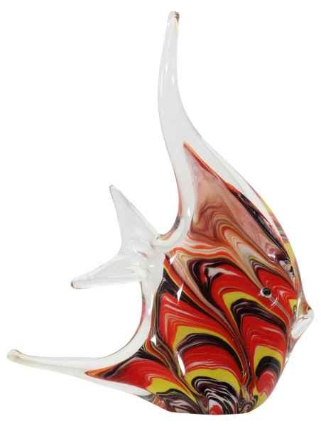 Glasfigur Figur Skulptur Glas Glasskulptur Skalar Murano-Stil Antik-Stil 23cm