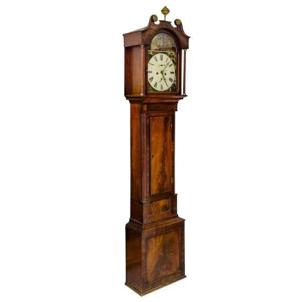 Standuhr Uhr England Longcase Clock Thomas Gibson Berwick Antik Antiquität