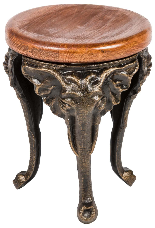 blumenhocker elefant 40cm eisen blumentisch blumenständer garten