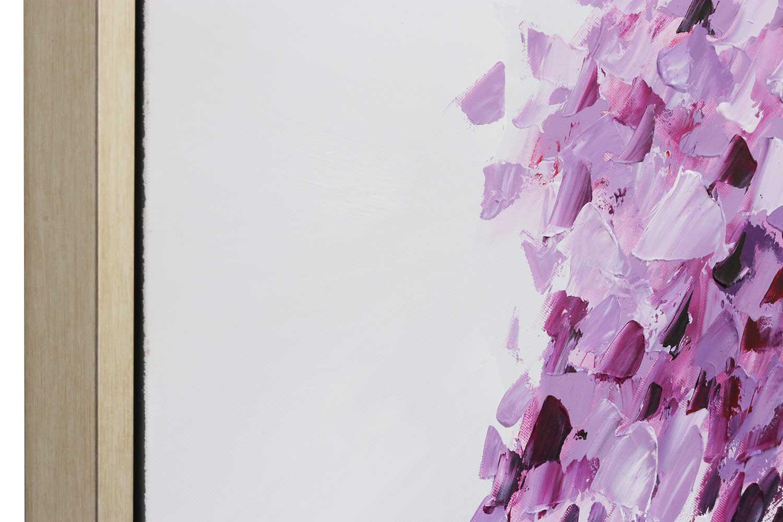 Original riesiges Gemälde Ölgemälde Baum Moderne Bild mit Rahmen 124x84cm