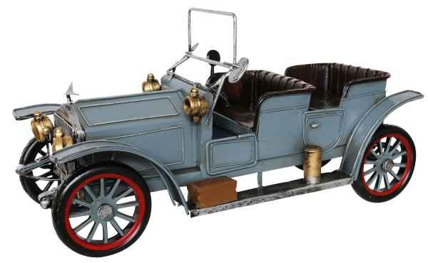 Blechauto Modellauto Cabrio Oldtimer Antik-Stil Eisen L 37x18x15 cm