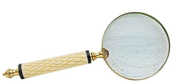 Lupe Leselupe Lesehilfe Antik-Stil Handlupe Vergrößerungsglas e
