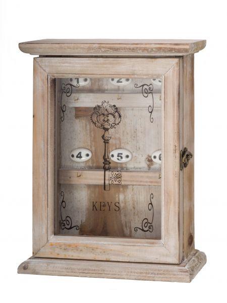 Schlüsselkasten im antik Stil Schlüssel keyholder Landhaus Shabby chic Holz