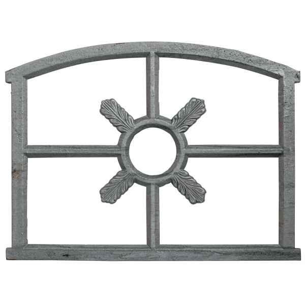 Fenster grau Stallfenster Eisenfenster Scheunenfenster Eisen 70cm Antik-Stil (q)