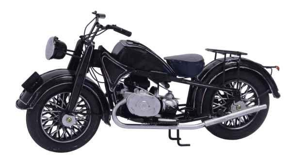 Nostalgie Modellmotorrad Blech Motorrad Blechmotorrad Oldtimer 32,5cm