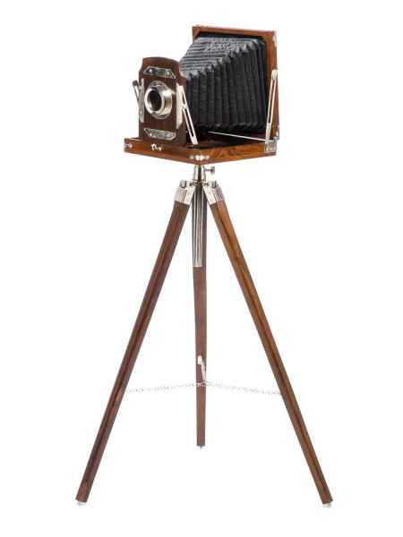 Plattenkamera Studio Kamera Atelier Modell Antik-Stil Dekoration Nostalgie Foto
