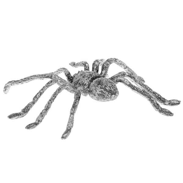 Zinnfigur in Form einer Heuschrecke Figur Skulptur Silber Insekt Zinn sculpture