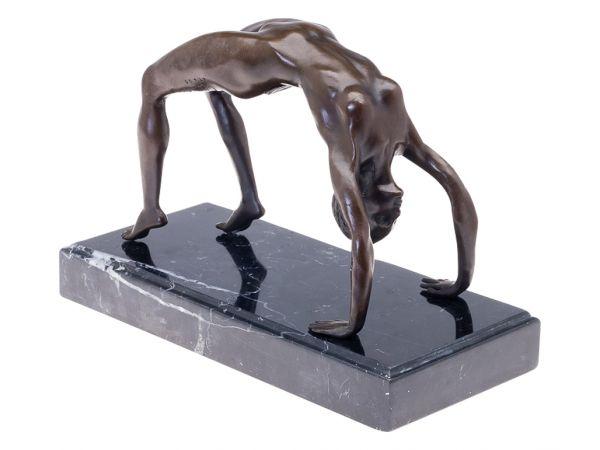 Bronzeskulptur Frau erotische Kunst Bronzestatue Bronze Figur Antik-Stil
