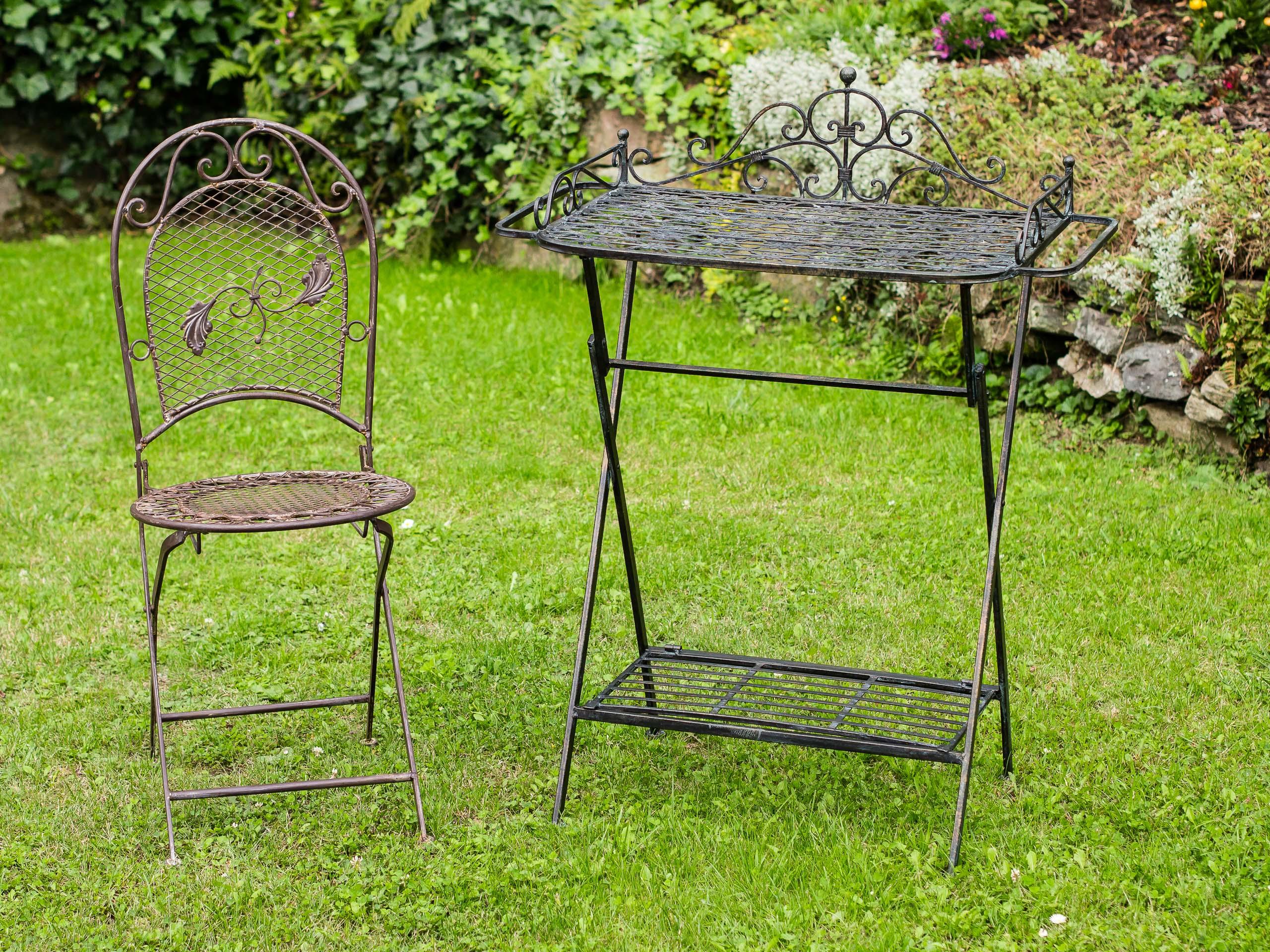Butlers Tray Serviertisch Gartentisch Garten Klapptisch