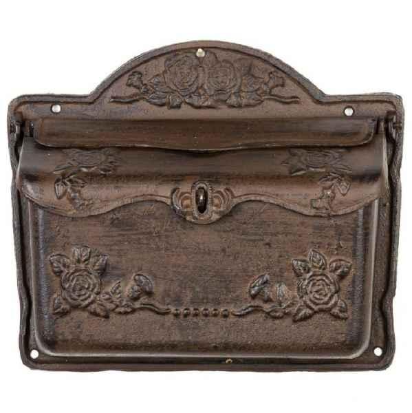 Briefkasten Wandbriekasten Eisen Antikstil Landhausstil Shabby iron letterbox
