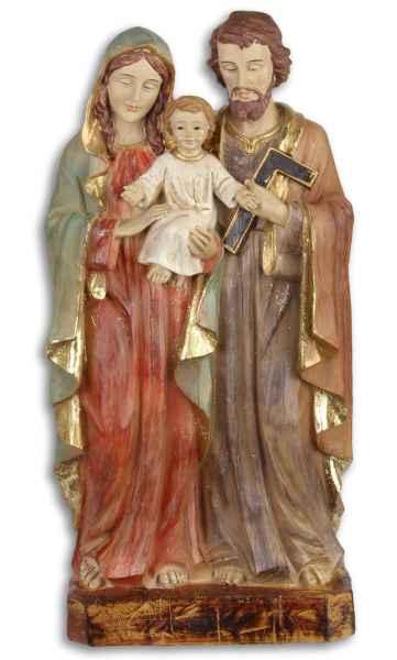 Maria Josef Jesus Heiligenfigur Weihnachten Kirche handbemalt Antik-Stil 31cm