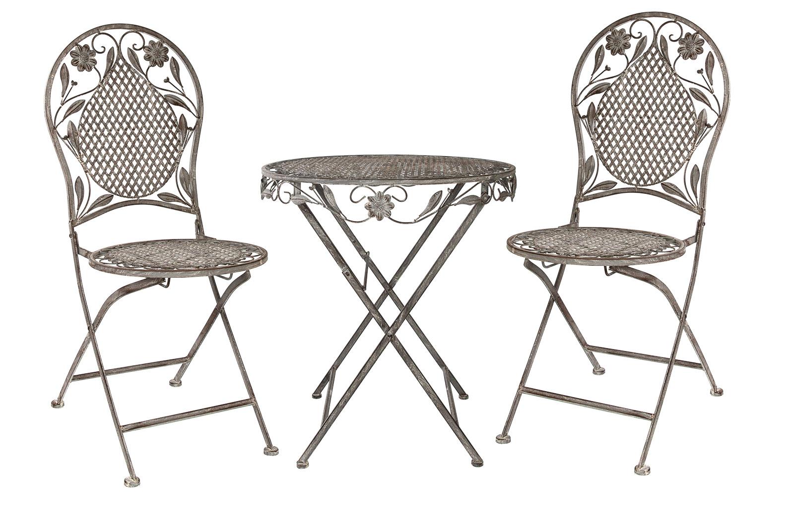 gartenm bel aus eisen im shop von aubaho einkaufen aubaho kunst voll im online shop einkaufen. Black Bedroom Furniture Sets. Home Design Ideas