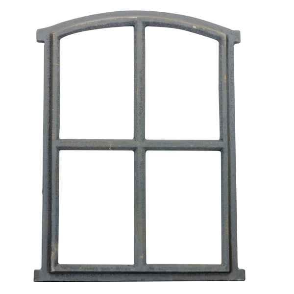 Raam grijs stal raam ijzer raam schuur raam ijzer 49cm antieke stijl (k)