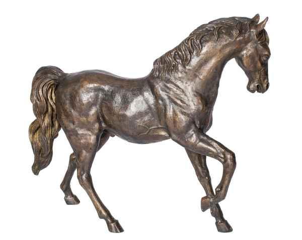 XL Bronze Skulptur Figur Pferd Bronzeskulptur 80cm 18kg sculpture horse