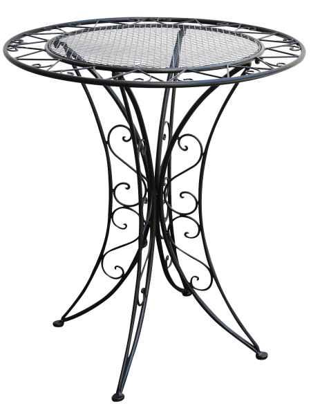 Bistrotisch Metall Antik Stil Gartentisch 80cm Garten Bistro Tisch