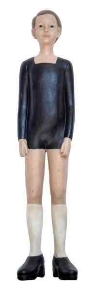 XXL Skulptur Junge 91cm Knabe Figur Kind Statue Antik-Stil