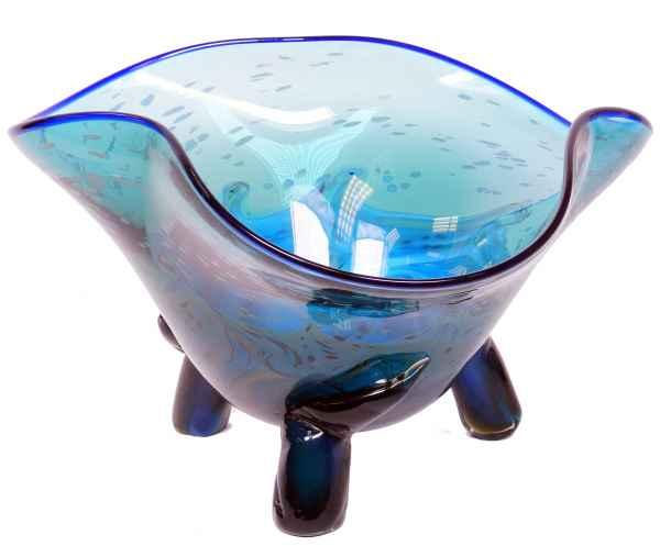 Glasschale Schale Glas im Murano Antik Stil - 40cm