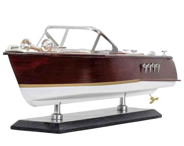 Modellschiff Sportboot Schiffsmodell Yacht Schiff Boot Modell Italien 36cm